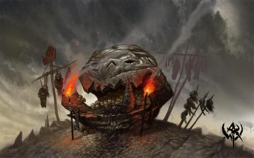 La tribu de la Lune Rousse - CDA Tamurkhan - Warhammer Forum 01totem